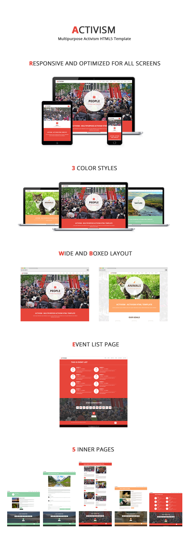 Activism - Multipurpose Activism HTML5 Template
