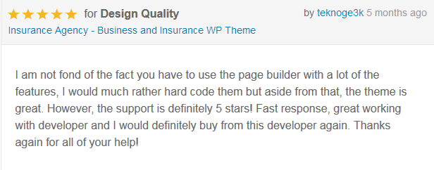 Insurance Agency - Business WP Theme - 7