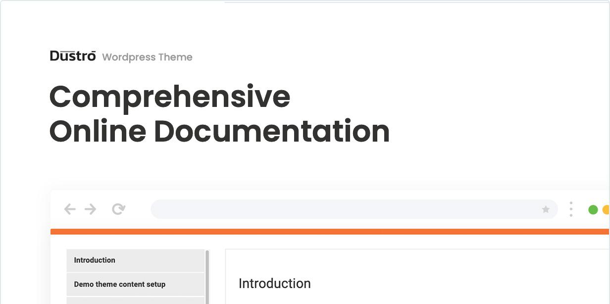 Dustro WordPress Theme